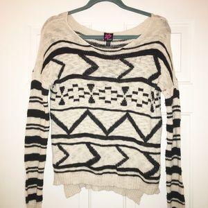 Bebe sweater size medium